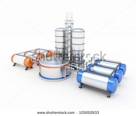 3D Refinery Model