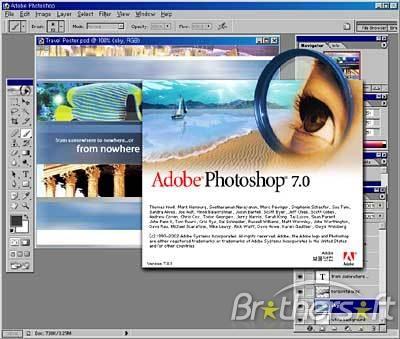 Adobe Photoshop 7 Free Download Software