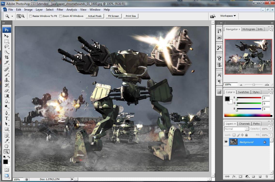 Adobe Photoshop CS3 Free Download