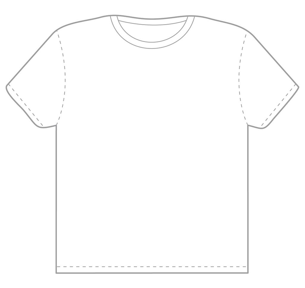 t shirt white template contegri com