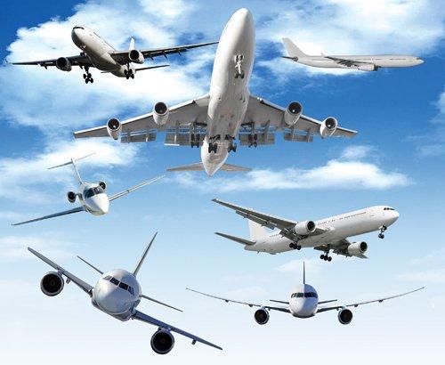Airplane Photoshop Template