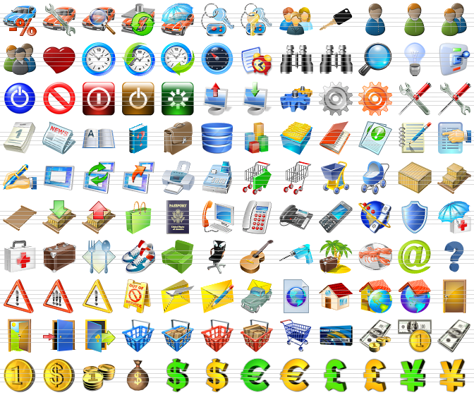 20 Official Windows 7 All Icons Images