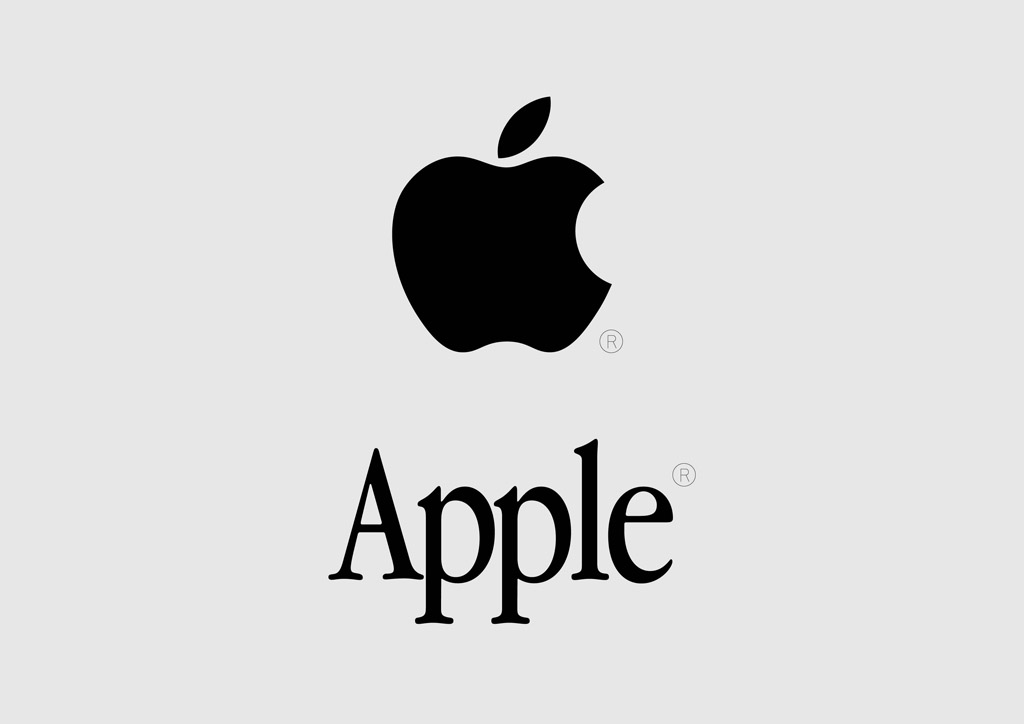 Apple Logo Vector Free