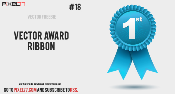 Award Ribbon Vector Free
