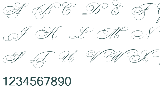 13 Beautiful Handwritten Fonts Images