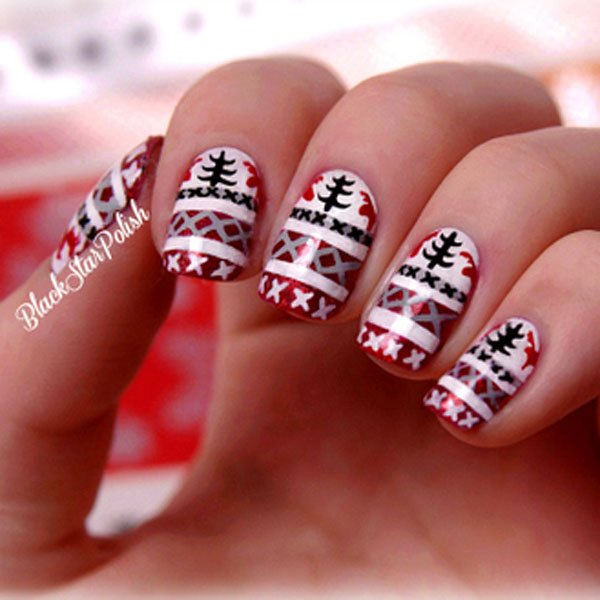 Best Christmas Nail Art