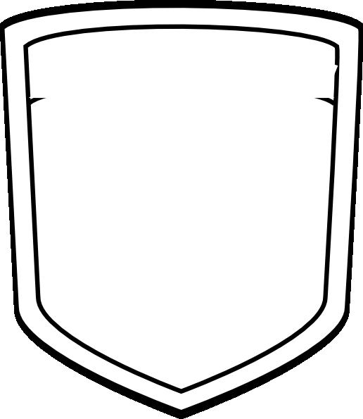 Blank Shield Template