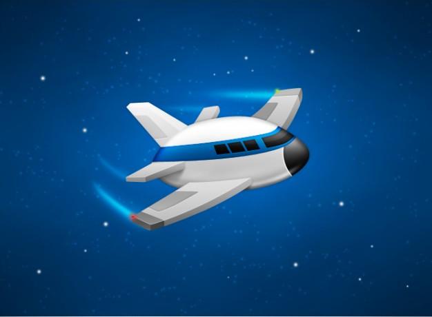 Broken Spaceship Cartoon