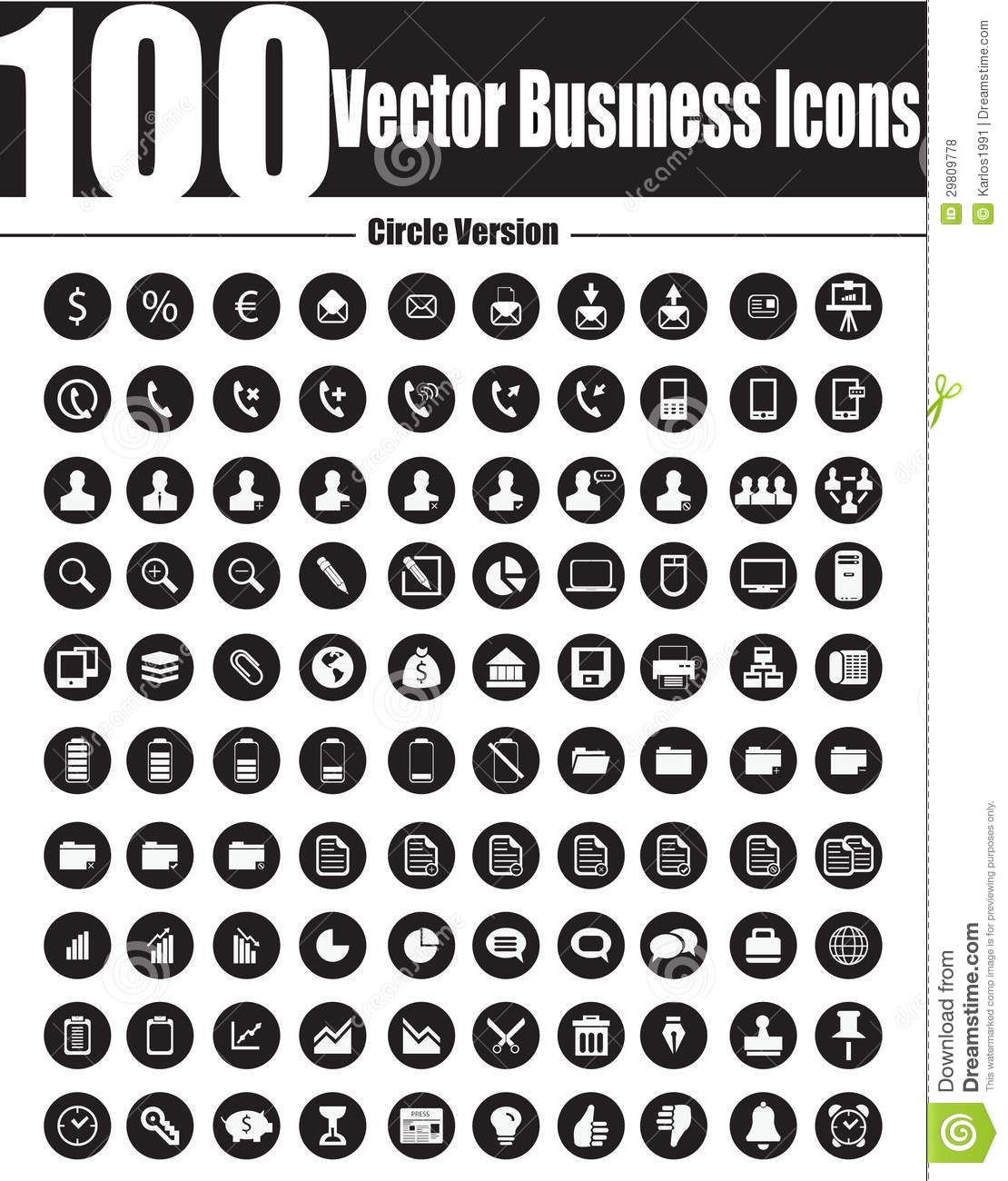 7 resume icons vector free images