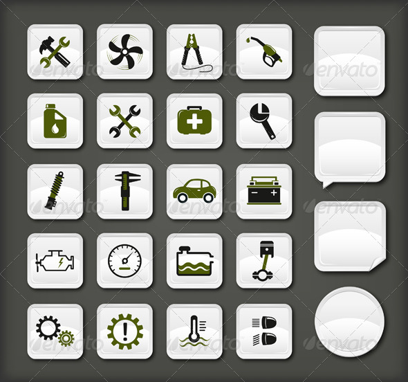 13 Icons For Automotive Industry Images