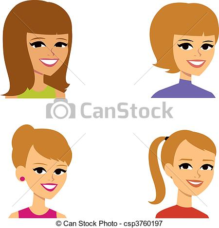 Cartoon Avatar Clip Art