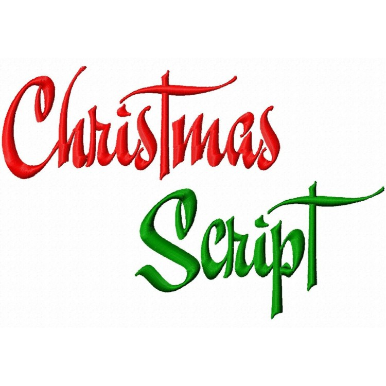 16 Free Christmas Script Fonts Images