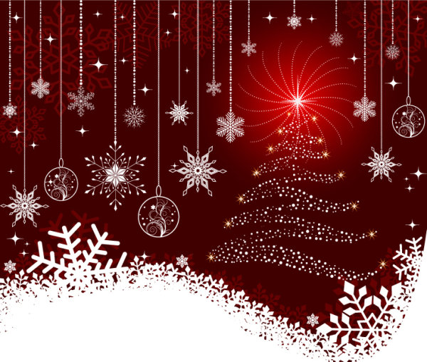 19 Christmas Background Vector Free Download Images