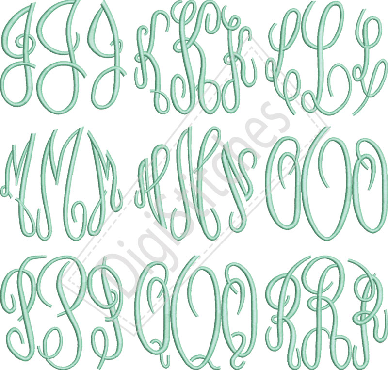 15 Free Embroidery Font Downloads Images