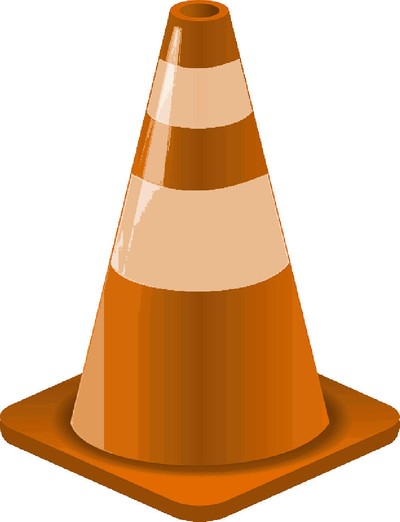 Construction Cone Clip Art