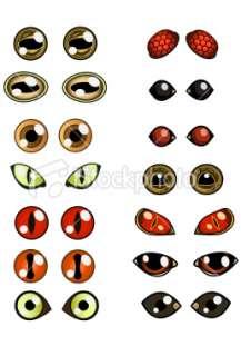 Copyright Free Images of Animal Eyes