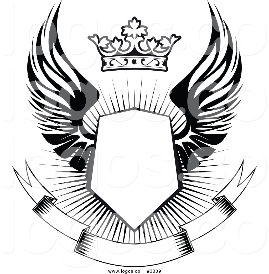 Crown and Shield Logo Design