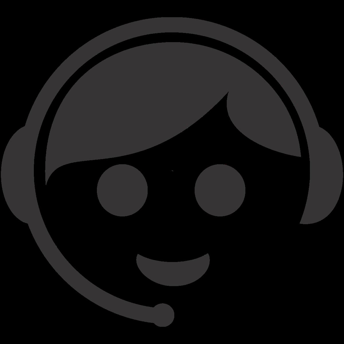 13 Customer Service Representative Icon Black Images