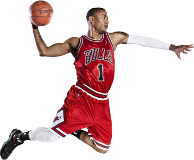 10 Basketball Player PSD Images