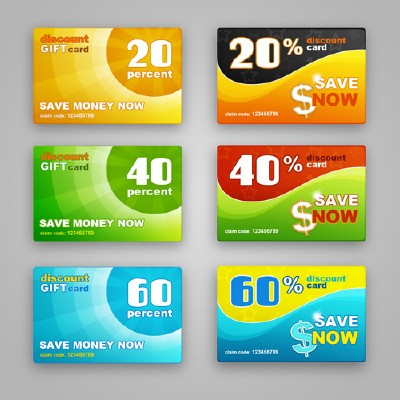 Discount Cards Templates