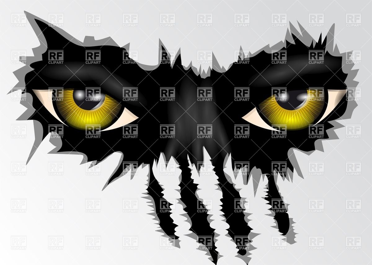 Evil Eyes Clip Art