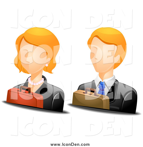 Female Business Avatar Clip Art
