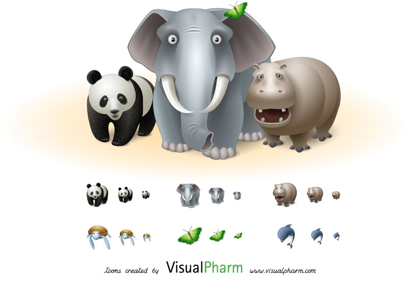 Free Animal Icon Sets