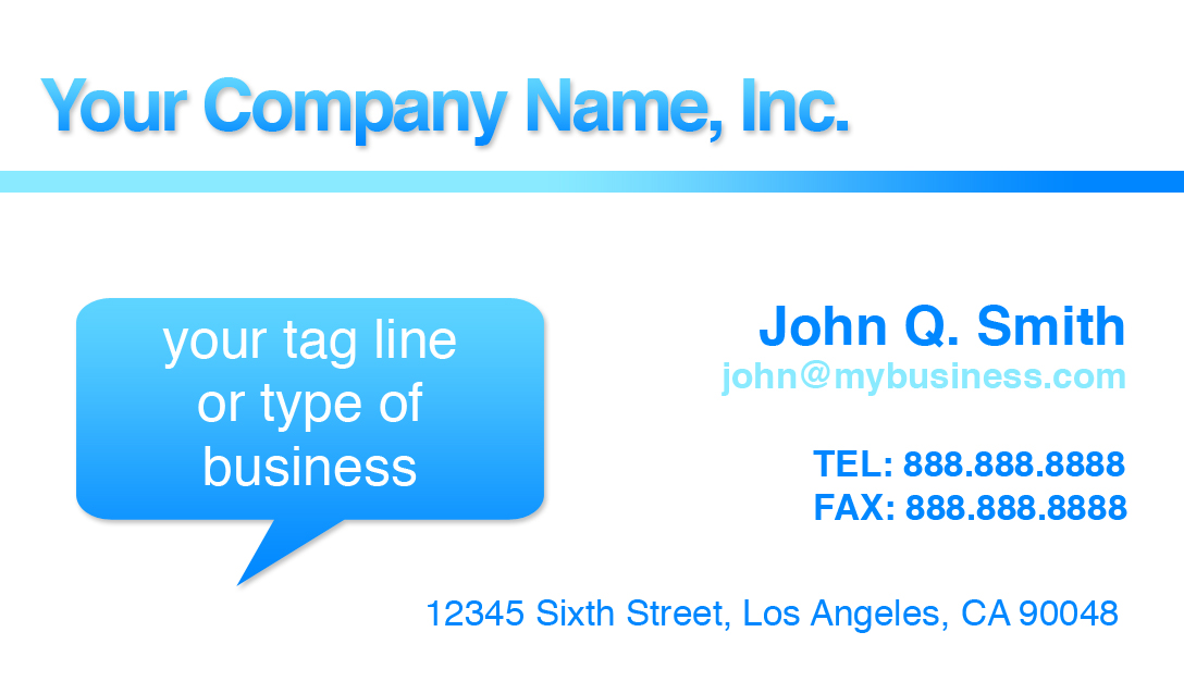 Design Business Card In Microsoft Word How to design