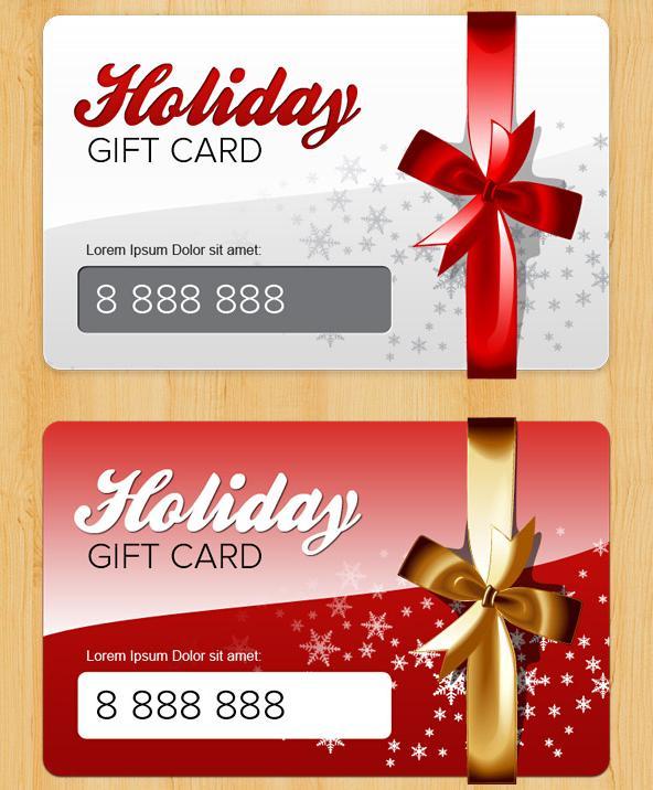 Free Christmas Card PSD Template