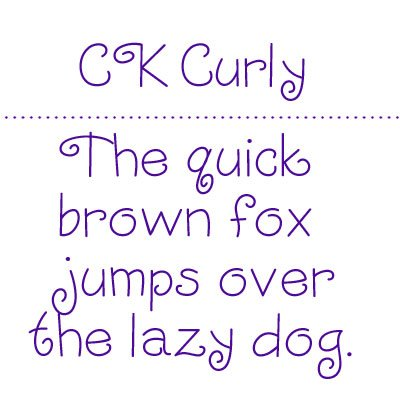 FONT DOWNLOAD CURLY