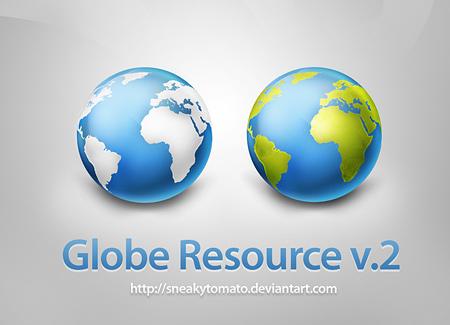 Free Psd Globe