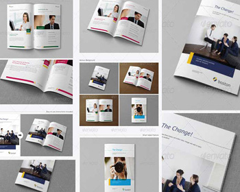 Free Psd Magazine Cover Template