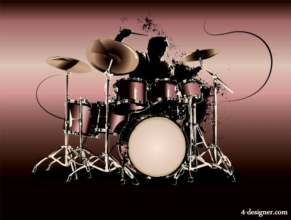 Free Vector Art Drums