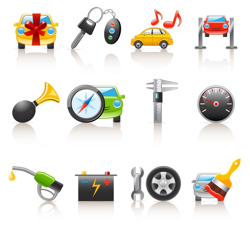 17 Car Vector Graphics Icons Images