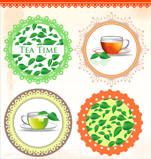 9 Tea Time Vector Images