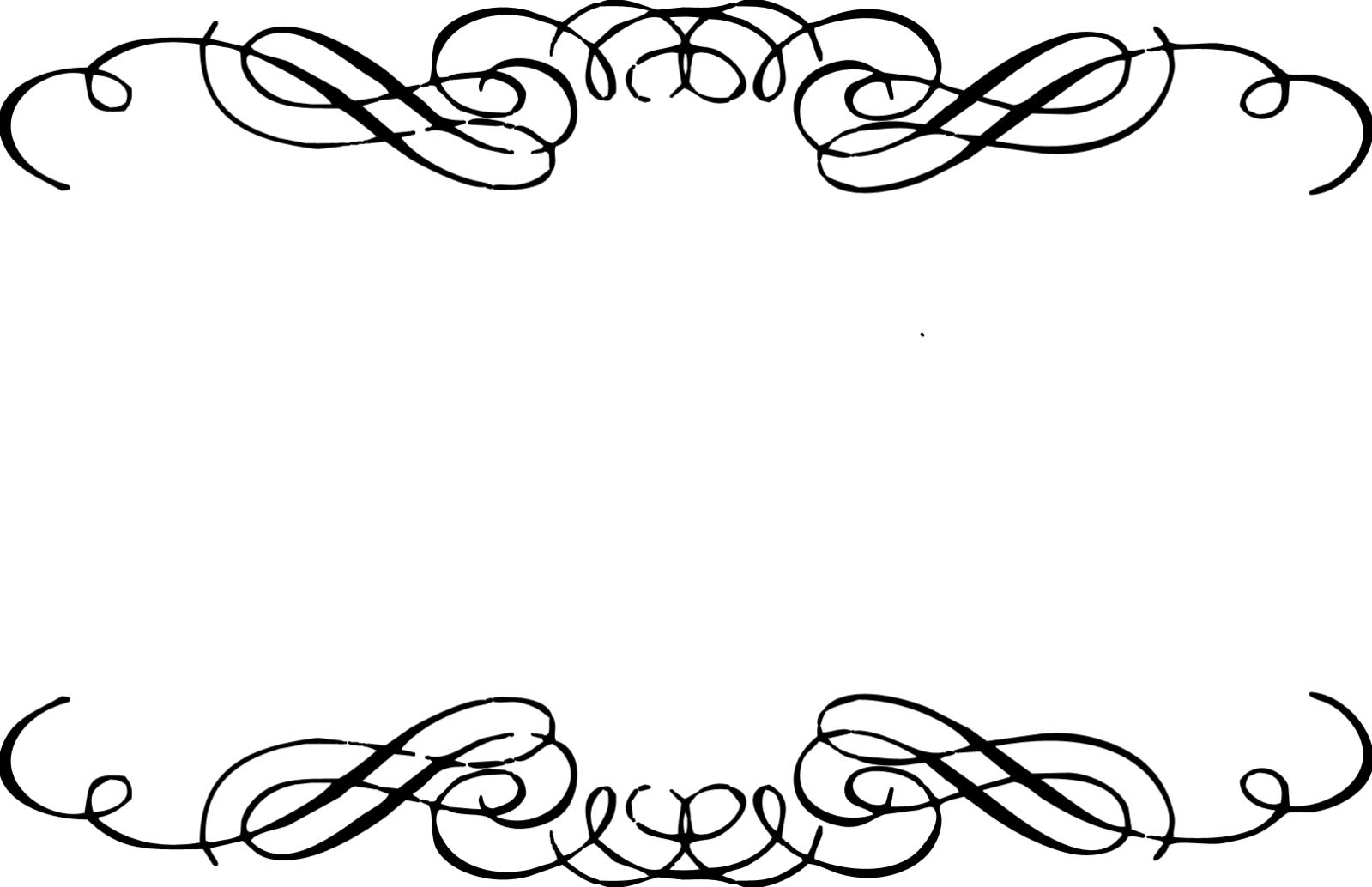 16 Graphic Swirl Borders Images