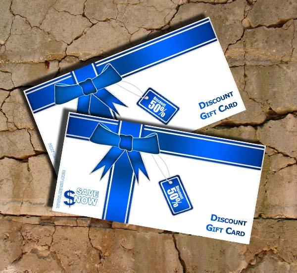 Gift Certificate Template PSD