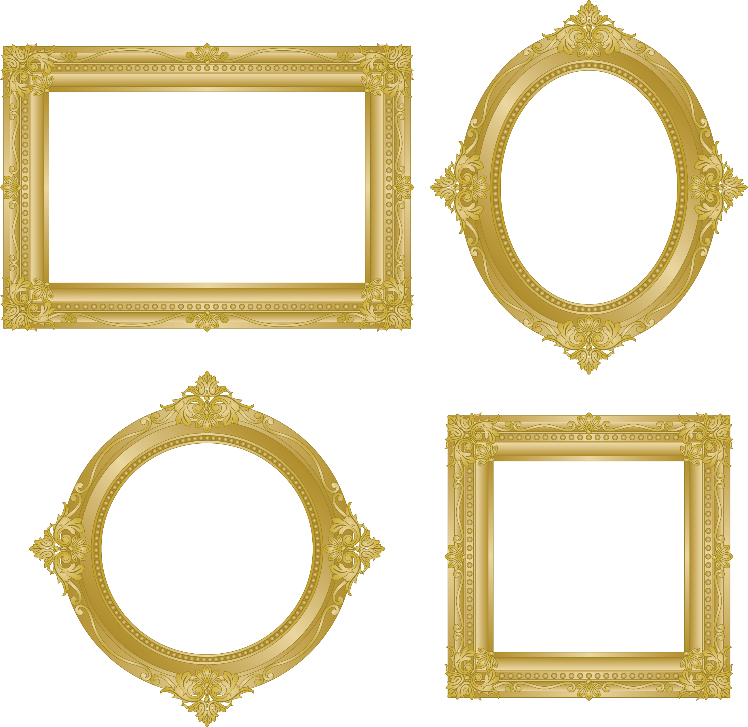 Stunning free vector frames images