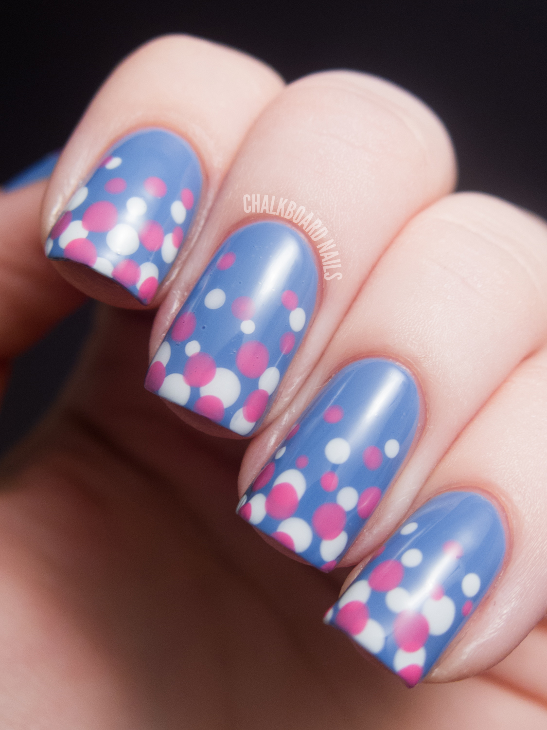 14 Chalkboard Blue Nail Designs Images