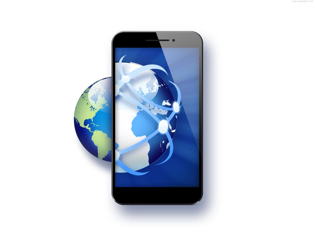 Graphic Icons Smartphones