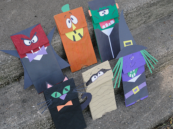 17 Halloween Paper Bag Templates Images