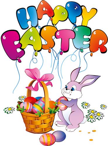 Happy Easter Bunny Clip Art
