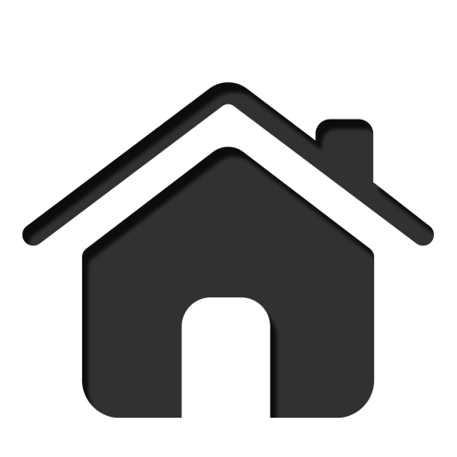 12 Black House Icon Images