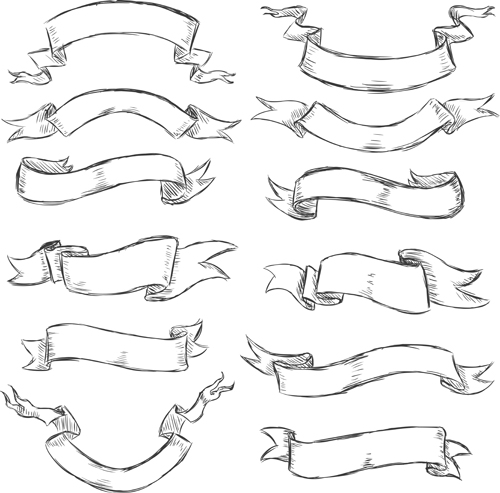How to Draw Ribbons Banner