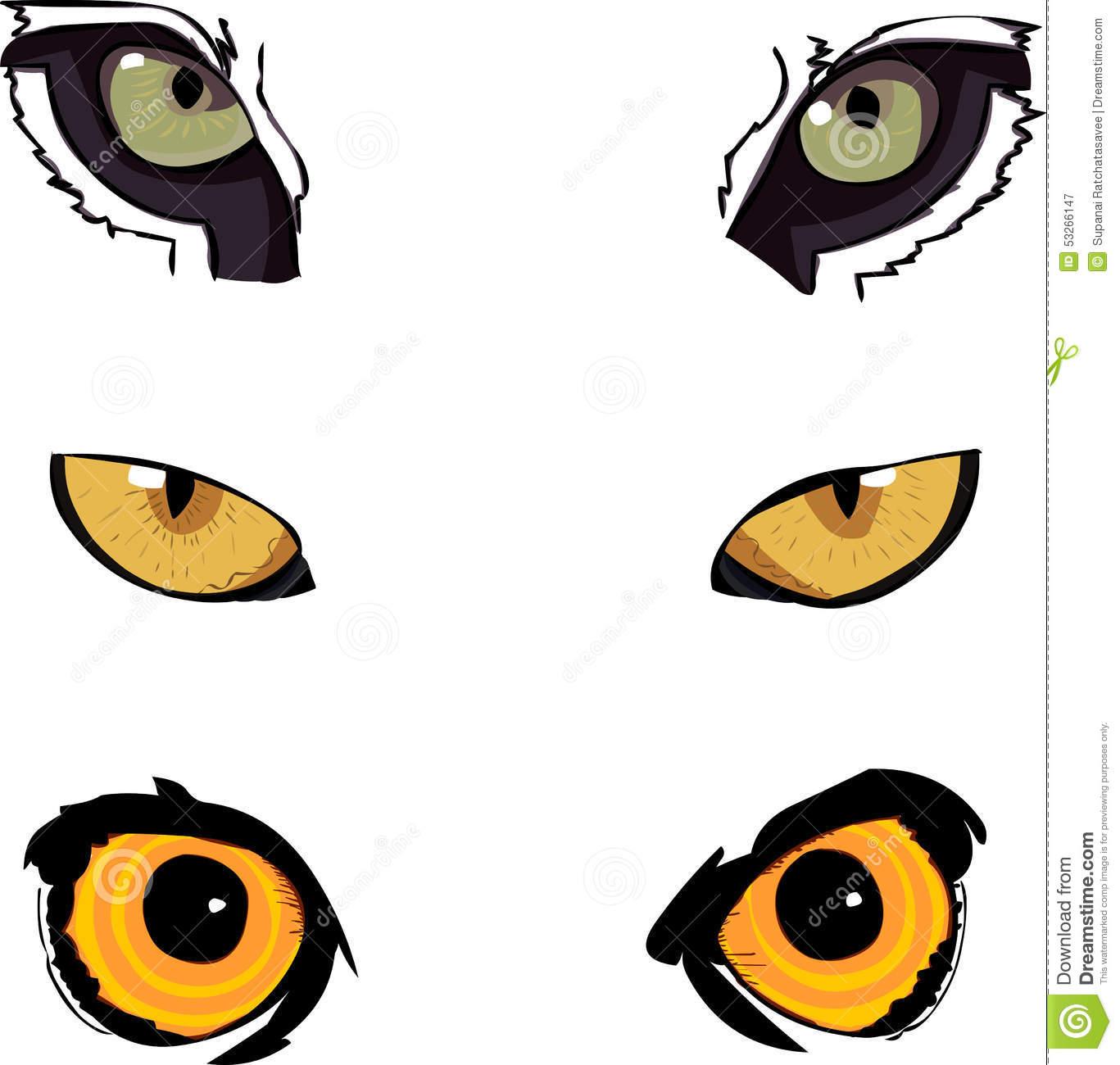 Illustration Animal Eyes Images