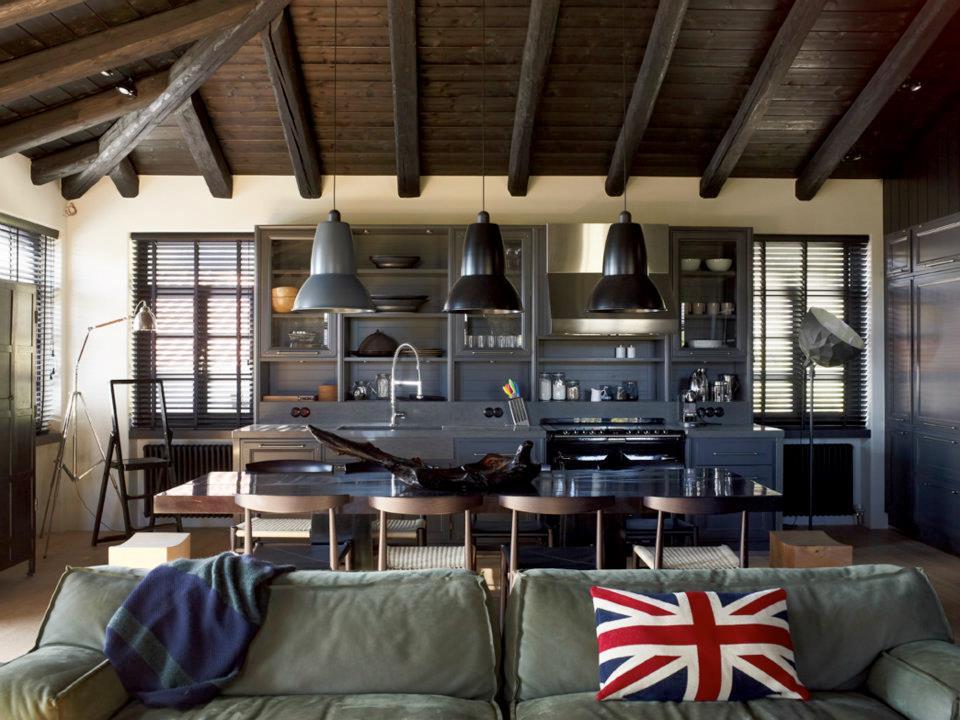 Industrial Traditional Interior Design