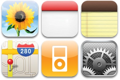 17 Printable IPhone App Icons Images