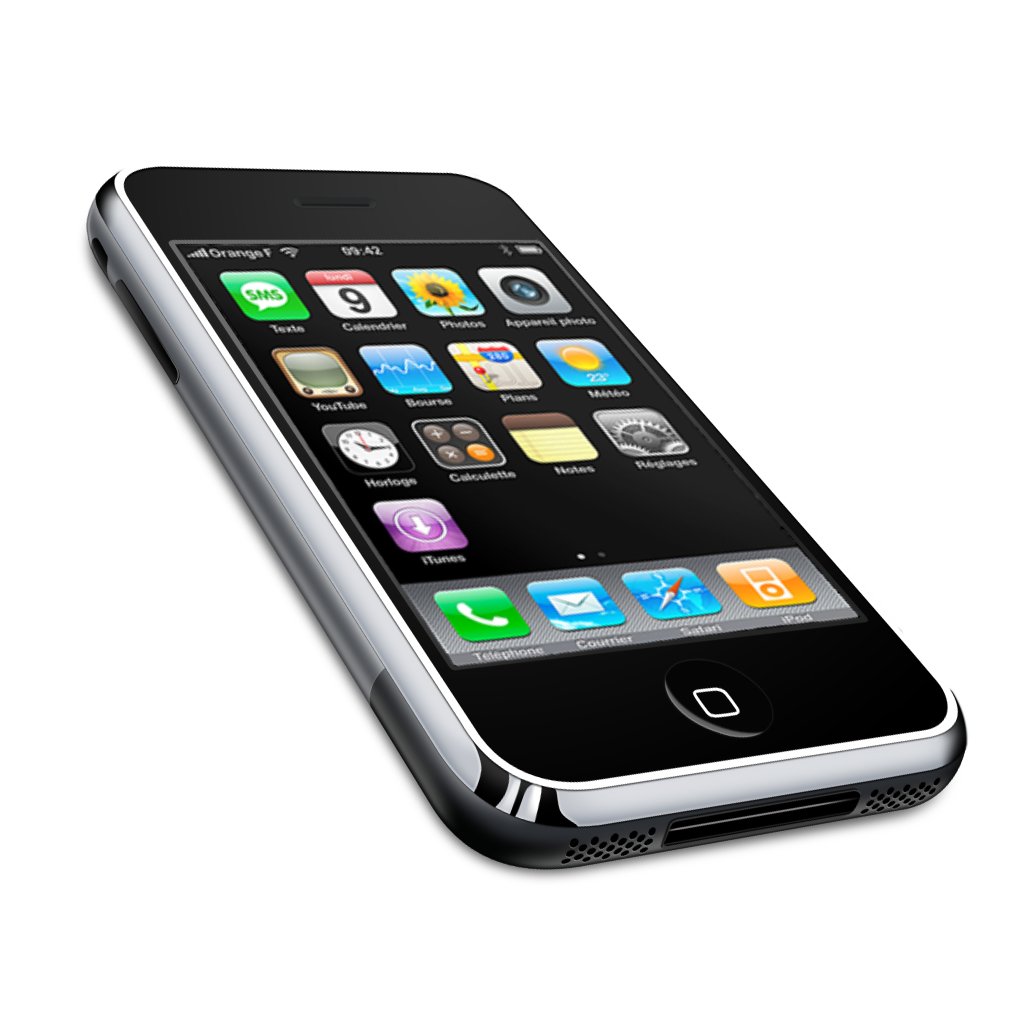 iPhone Cell Phone Icons