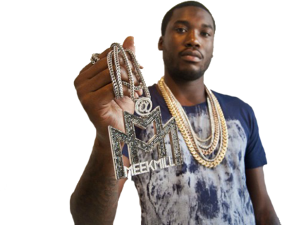 Meek Mill with Chains
