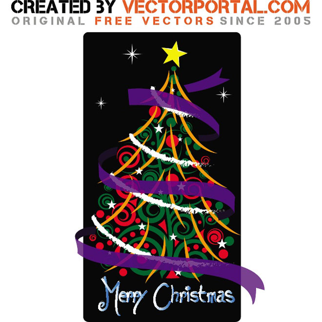 Merry Christmas Vectors Free